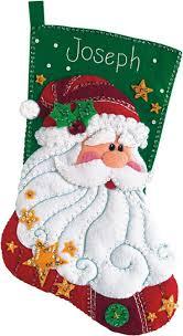 Christmas Stocking Ideas by Best 25 Felt Stocking Ideas On Pinterest Felt Christmas
