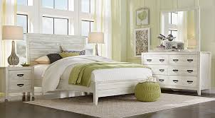 palm grove white 5 pc queen panel bedroom queen bedroom sets white