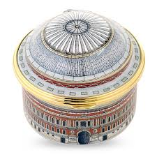royal albert hall musical enamel box halcyon days