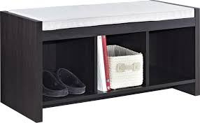 Storage Bench Amazon Com Altra Penelope Entryway Storage Bench With Cushion