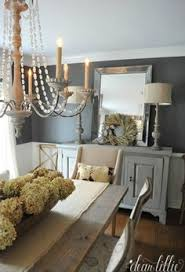 rustic dining room ideas this esp the hanging lanterns and the mirror would look