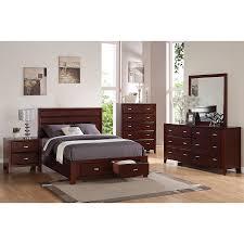 shop alpine furniture carrington merlot birch nightstand at lowes com