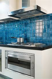 Best  Blue Backsplash Ideas On Pinterest Blue Kitchen Tiles - Teal glass tile backsplash