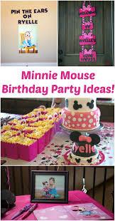 minnie mouse birthday minnie mouse birthday party