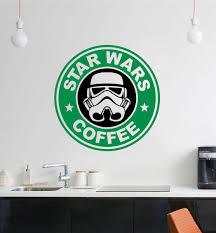 star wars starbucks wall decal the decal guru