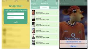 snaphack android snaphack saves your snapchat messages without telling the sender
