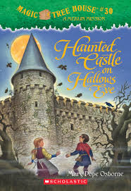 Magic Treehouse - haunted castle on hallows eve by mary pope osborne scholastic
