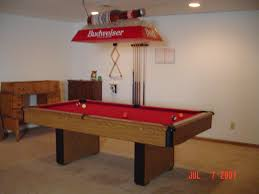 vintage budweiser pool table light auction