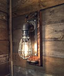 Edison Wall Sconce Edison Bulb Wall Sconce Black Iron Industrial Wall Sconce