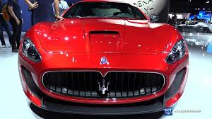 maserati granturismo 2016 red 2017 maserati granturismo mc exterior and interior walkaround