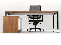 Office Table Front View Eborcraft Office Furniture Category Zenith Chrome Executive