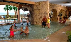 bedroom tasty indoor outdoor pool complex three pools children