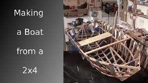 how to build a boat from a single 2x4