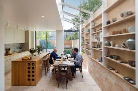 Eat In Kitchen Island Kitchen Of The Week An Architect U0027s Labor Of Love Kitchen Art