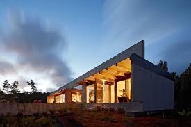 concrete and glass house in pahoa hawaii