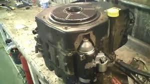 lot 1798a john deere stx38 12 5 hp kohler running engine youtube