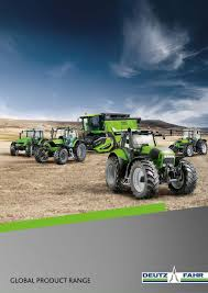 deutz fahr global range 2016 by deutz fahr issuu
