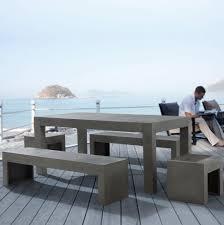 Cement Patio Furniture Sets - cement patio furniture sets home design ideas