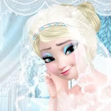 Free Online Makeup Classes Here You Can Play Elsa Wedding Makeup Game Elsa Wedding