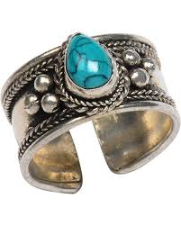 turquoise stone trades of hope rena turquoise ring