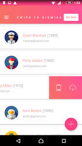matta material design android ui template theme app by
