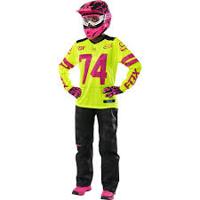 womens motocross jerseys fox racing 2016 womens switch jersey and pant package yellow