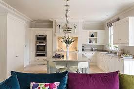 kitchen sofa furniture luxurious open plan kitchen by tom howley the kitchen think