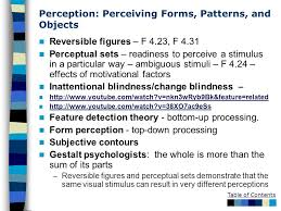 Change Blindness Youtube Sensation And Perception Ppt Download