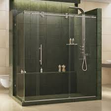 Maax Glass Shower Doors by Schon Brooklyn 60 In X 79 In Semi Framed Shower Enclosure With