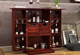 Folding Bar Cabinet Bar Cabinet Online Buy Wooden Bar Cabinet Online At Best Price