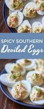 spicy southern deviled eggs and virtual baby shower this gal