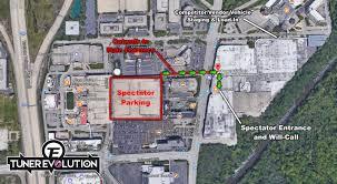 Chicago Tourist Map by Tuner Evolution Chicago