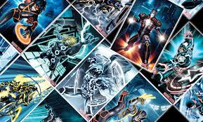 marvel comics celebrate tron legacy slashgear