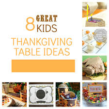 8 last minute ideas for a kids u0027 thanksgiving table tauni co