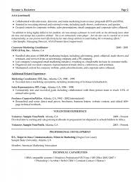 Resume Summary For Warehouse Worker Marketing Resume Objectives Examples Resume Example And Free