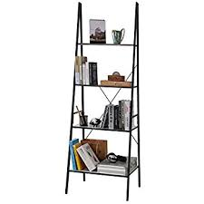 lifewit 4 tier ladder shelf bookcase freestanding 4 tiers storage