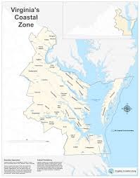 East Coast Time Zone Map by Virginia Deq What Is The Virginia Coastal Zone Management Program