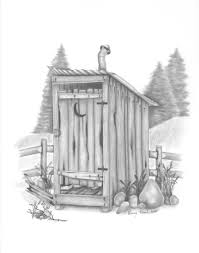 outhouse by kissel71 outhouse art pinterest