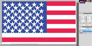 American Flag In Text American Flag Pdf Design