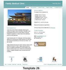 medical practice website design templates moneo medical