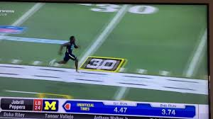 jabrill peppers 40 yard dash combine youtube