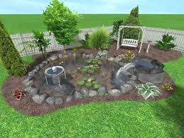 landscape design ideas for small backyards outside sitting area