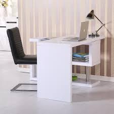 new homcom foldable rotating office desk shelf combo writing table