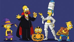 Lisa Simpson Halloween Costume Simpsons U0027 Halloween Hd Wallpaper Background 2201x1244