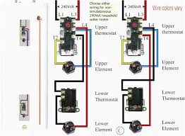 water heater thermostat wiring diagram diagrams in electric ansis me