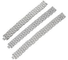 silver woven bracelet images Italian silver sterling textured woven bracelet 51 8g 57 6g 001