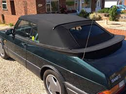 saab 900 convertible soft top car hood replacement norwich norfolk top job
