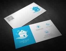 double infinity u2013 luxury villas business card