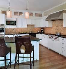 Contemporary Kitchen Backsplash by Kitchen Brick Kitchen Backsplash Ideas Backsplash That Looks Like