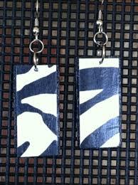 decoupage earrings decoupage earrings